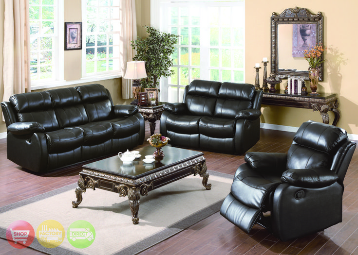 leather living room sets   Weston Contemporary Genuine Black Leather Motion Living  Room Set. Best 20  Leather living room set ideas on Pinterest   Leather