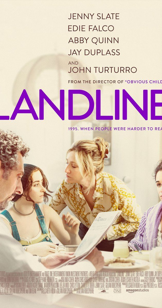 Directed by Gillian Robespierre.  With Jenny Slate, Jay Duplass, Abby Quinn, John Turturro. In 1995, a teenager living with her sister and parents in Manhattan discovers that her father is having an affair.