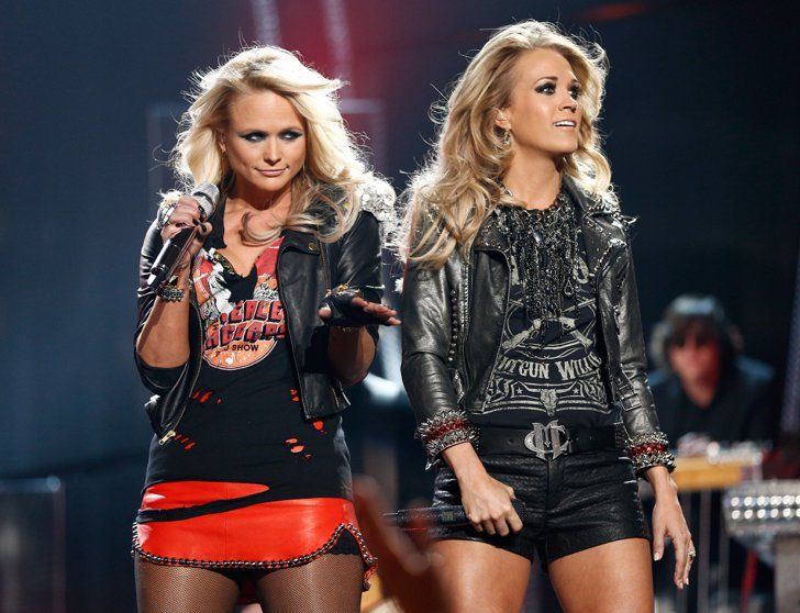 Pin for Later: Carrie and Miranda Bring Country Girl Power to the Billboard Music Awards
