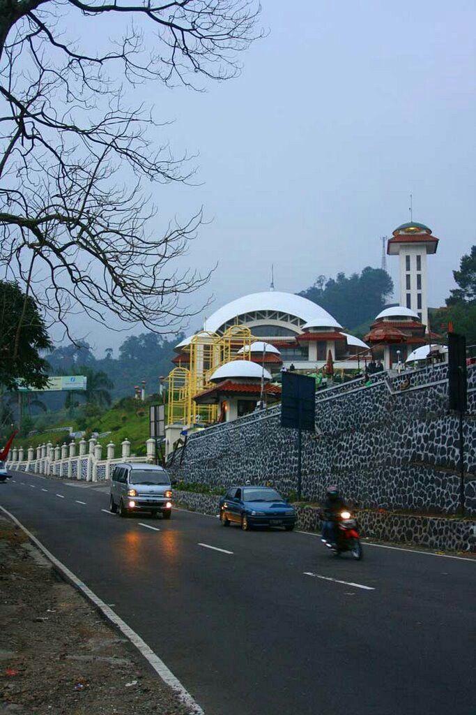 Masjid At'Taawun in Puncak Bogor, West Java