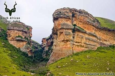 Golden Gate Highlands - Free State, South Africa