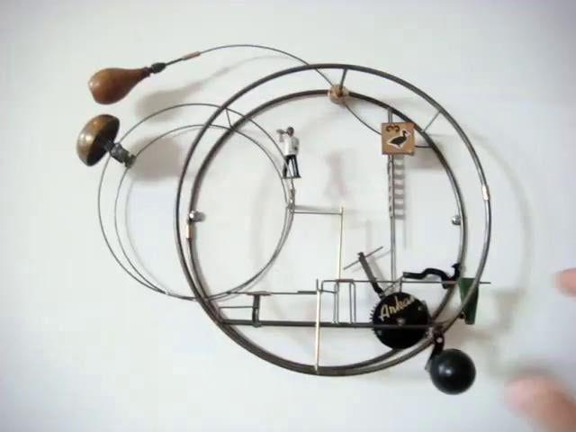 A new Mechanical Sculpture by Gina Kamentsky http://www.ginakamentsky.com