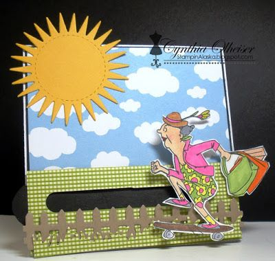 Art Impressions Rubber Stamps: Ai @ Michael's: Got Style (SC0678) ... handmade card.