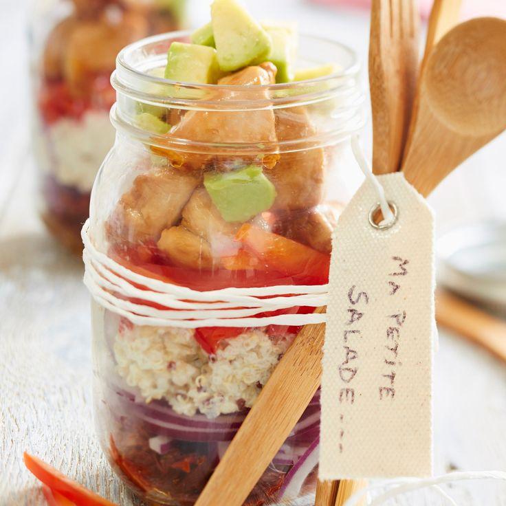 Salade de quinoa et de poulet St Sever, Label Rouge / Quinoa Salad with St Sever Poultry, Label Rouge