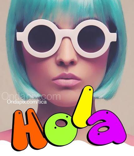 Hola #hola #saludos #tarjetitas #ondapix