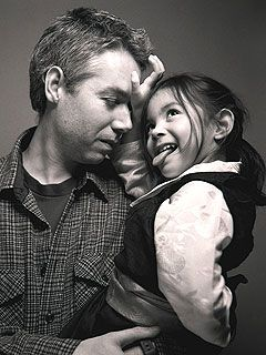 R.I.P Adam Yauch (with daugther Tenzin), I still listen to the Beastie Boys since high school....great musician and artist...