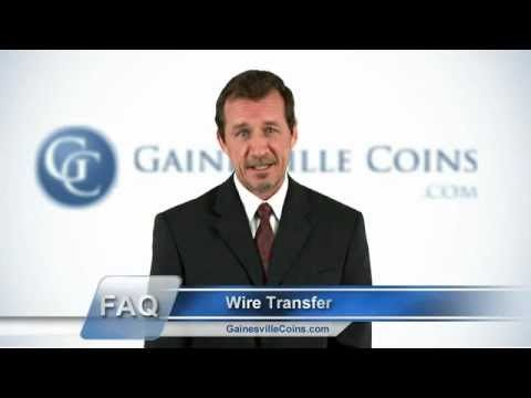 Using a bank wire transfer is often faster than a traditional credit card. This short video demonstrates how easy it can be. For more bank wire transfer information, please visit us at http://www.gainesvillecoins.com/  Use A Bank Wire Transfer To Pay For Your Gold And Silver http://www.youtube.com/user/gainesvillecoins/