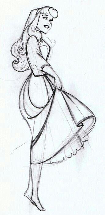 Aurora To Draw Disney Sketches Disney Drawings Drawings
