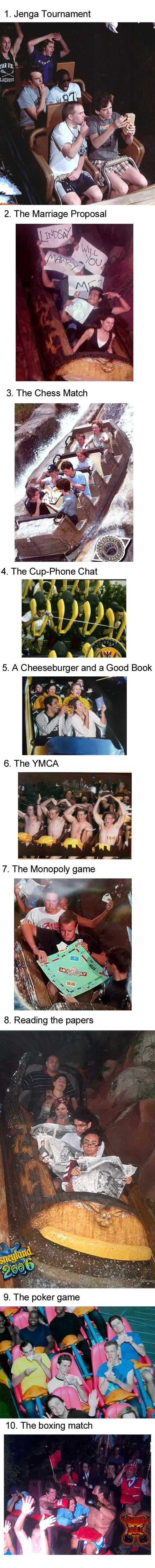 Best roller coaster pics