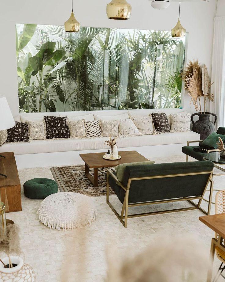 Villa Medina Canggu Bali On Instagram Tropical Tropical Interior Design Bedroom Tropical Interior Design Living Rooms Tropical Living Room