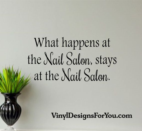 Best 25 nail salon decor ideas on pinterest beauty - Salon art definition ...