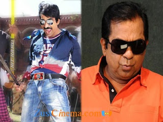 Ravi Teja's next outcoming film Balupu is busy with its song shoot in Lisbon.The latest update is that Brahmanandam
