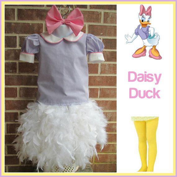 Daisy Duck inspired costume