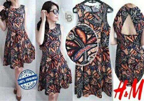 Jual HnM H&M Autum Bateeq Dress hanya Rp 95.678, lihat gambar klik https://www.tokopedia.com/mamanya-zati/hnm-hm-autum-bateeq-dress    #hnm #hm #autum #bateeq #dress #dark #fashion #style