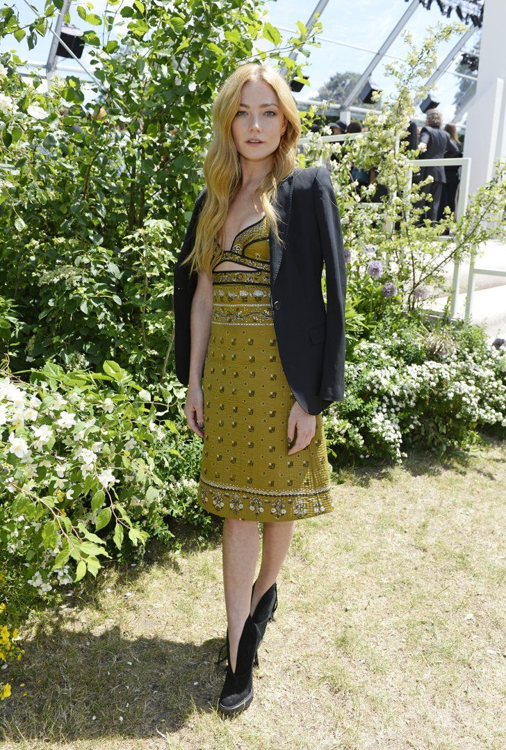 Pin for Later: 5 Things You Need to Know About the Burberry Menswear Show Clara Paget