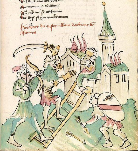 Straßburg  Werkstatt von 1418 -1419