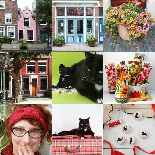 #2017bestnine  The nine @missminoes images you all liked most.  You are into #colouredhouses #colourfulleiden #missminoes_handmade #missminoes and #catsofinstagram #educatingdita .  . 2017 was eventful and brought big challenges and opportunities. Forward to 2018! Allons-y!