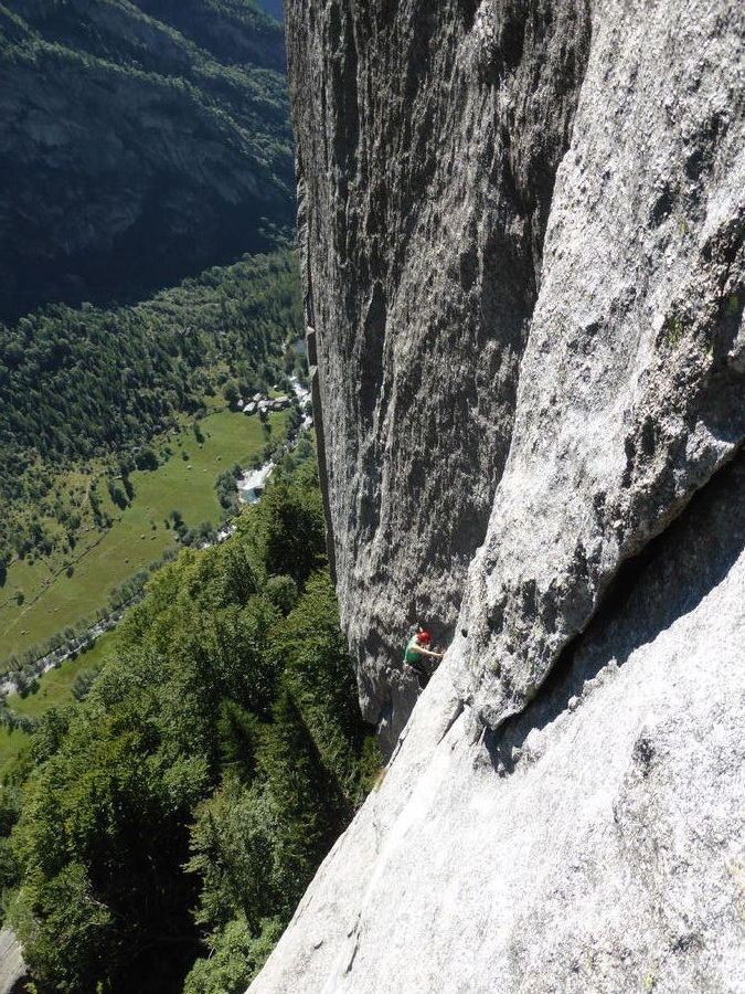 Luna Nascente. Val di mello. It ...to climb again