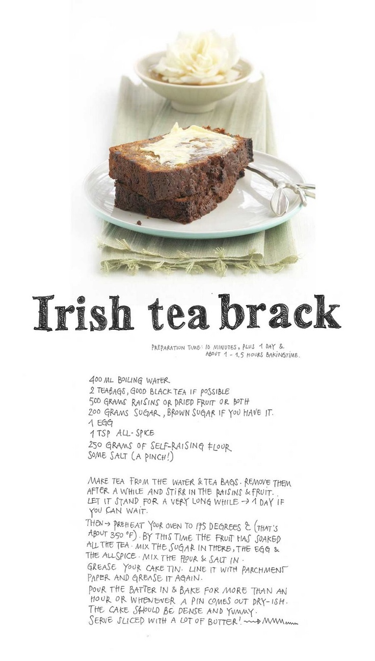 Yvette van Boven: Recipes | Irish Tea Brack Cake
