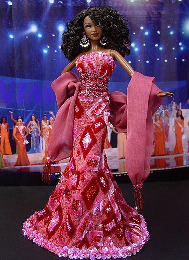 OOAK Barbie NiniMomo's Miss Alabama 2009
