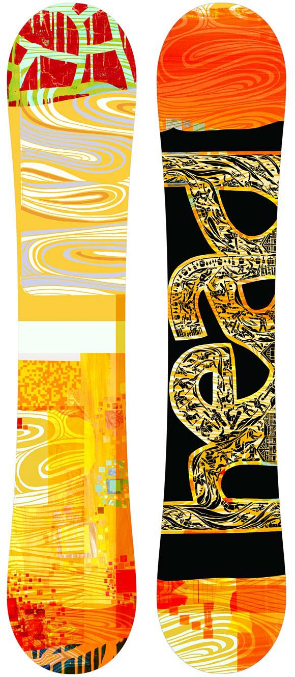 Head Snowboards designed by George Bates