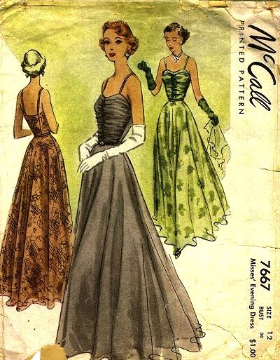 243 best I ♡ Vintage Sewing Patterns: Evening Gowns images on ...