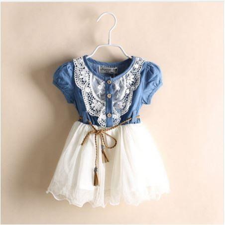 Vestido Infantil Delicate Frete Grátis