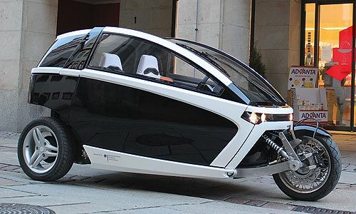 Dreirädriges Elektromobil INNVELO Three