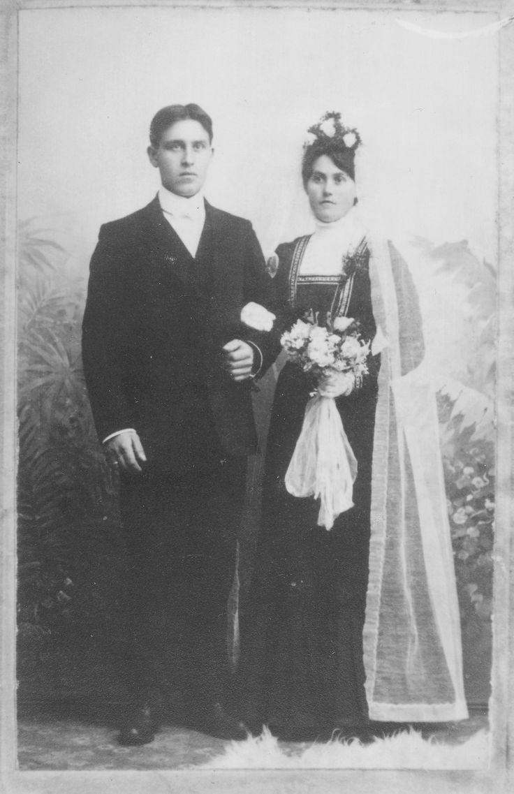 My great grandparents, Ingeborg Olsdatter (from Undheim) and Simon Lima. Parents of Gunnhild Lima Njærheim
