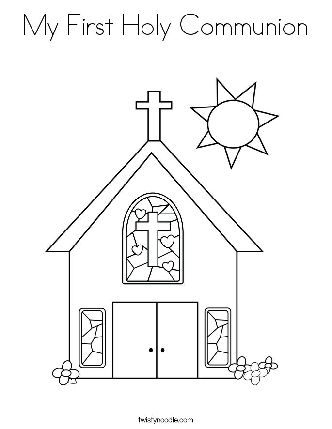 jesus coloring pages catholic church - photo#22