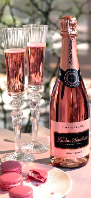 Pink champagne...just bought some yesterday :)