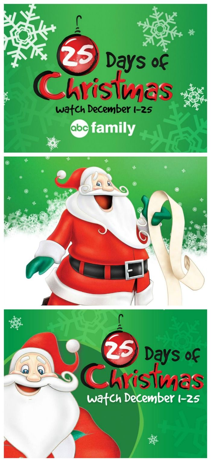 ABC Family Christmas Movies Schedule - 25 DAYS OF CHRISTMAS! | The Jenny Evolution