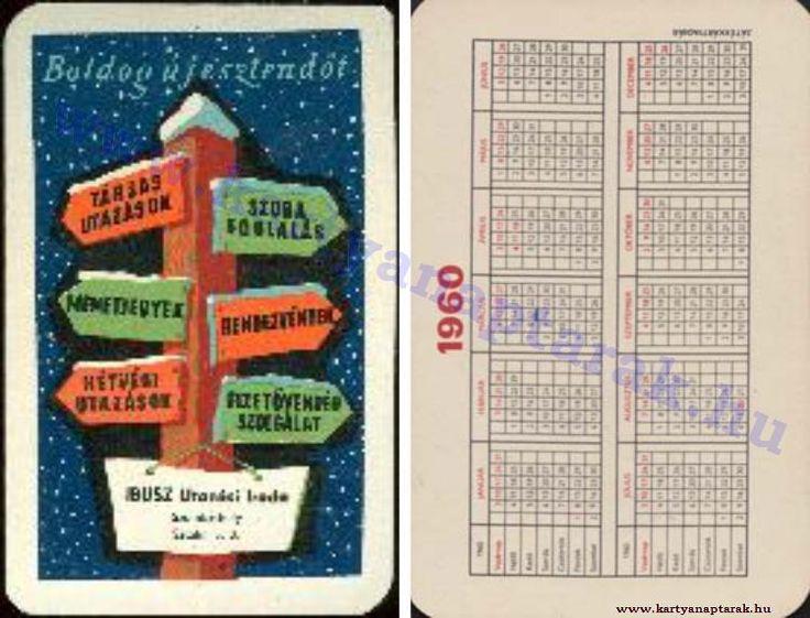 1960 - 1960_0096 - Régi magyar kártyanaptárak