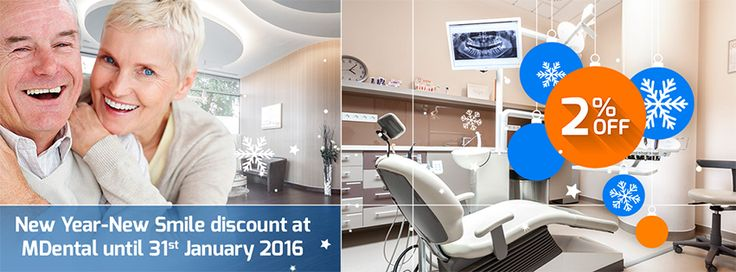 Visit beautiful Budapest at winter time and save 50-70% on your dental treatments! MDental Clinic Hungary offers 2% discount on…