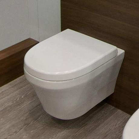 £139 Toronto Modern Round Wall Hung Toilet