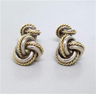 Tiffany cufflinks  $225  / @ hamptonauction.com
