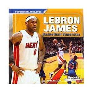 Lebron James: basketball superstar by Joanne Mattern 796.323 MAT Presents the athletic biography of Lebron James, including his career as a high school, college, and professional basketball player.