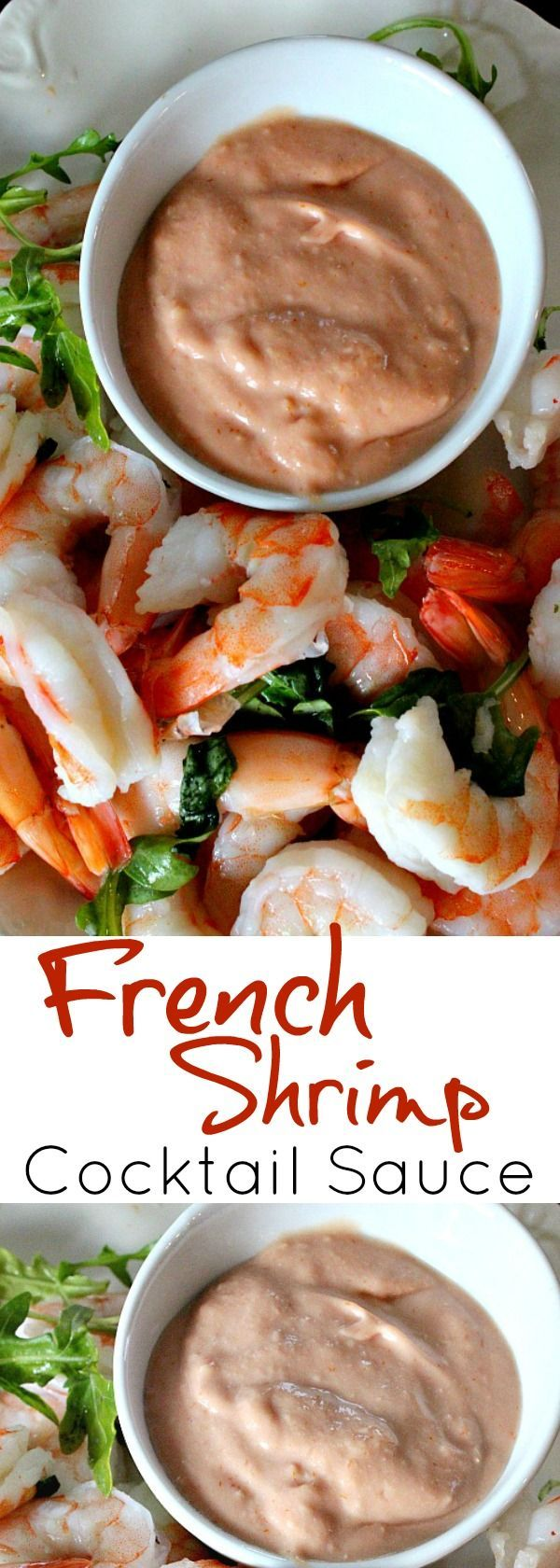 Broadmoor Hotel Reccipe for A French Version of a Classic. This French Cocktail Sauce Recipe tames your favorite Cocktail Sauce into a creamy treat for Shrimp Cocktail. #french #cocktail #sauce #broadmoor #hotel via @lannisam