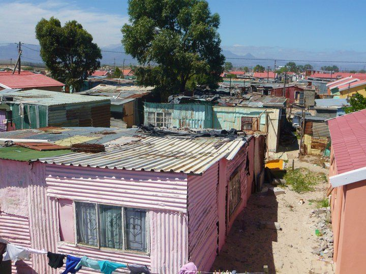 Township in Cape Town. By Dianne