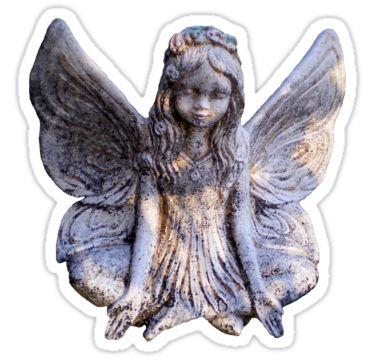 Fairy Meditation Sticker by StickerNuts