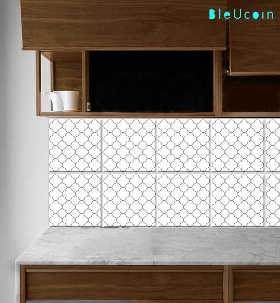 Bleucoin Tile Decal Backsplash: 100 Best Tile Decals/stickers Images On Pinterest