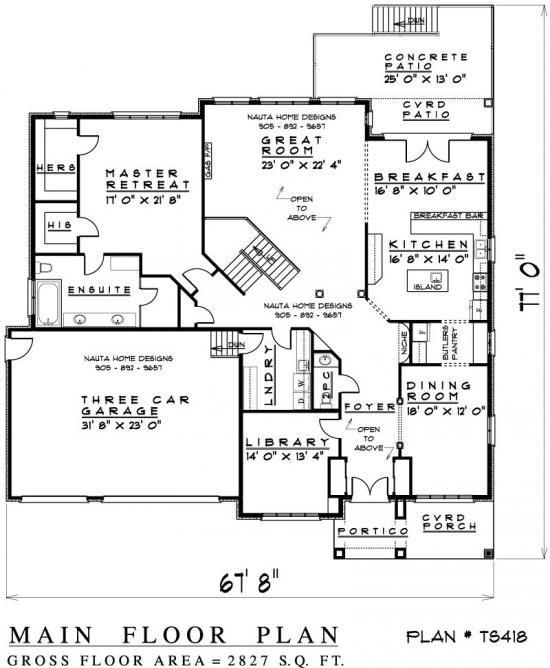 Two storey house plan ts418 nauta home designs house for Nauta home designs