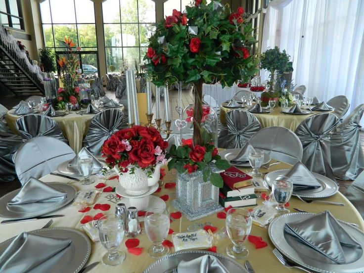 112 best images about daughter 39 s disney inspired wedding for Sleeping beauty wedding table