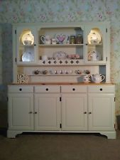 Ducal Pine Farmhouse Kitchen Welsh Dresser Shabby Chic in F&B free delivery !!