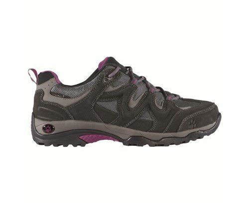 JACK WOLFSKIN Canyon Hiker Texapore Ladies Hiking Shoe by Jack Wolfskin. $116.82. Textile. Shoe Material-Sole Type: Rubber tread soles. Shoe Material-waterproof ✔. Walking shoe-Type: hiking shoes. Walking shoe-Category: hiking boots. Season-season: Whole Year Product. Walking shoe:Category: hiking bootsType: hiking shoesSeason:season: Whole Year ProductShoe Material:waterproof: yesOver material Type: SuedeOver material: suede leatherInner lining type: clothInner lin...