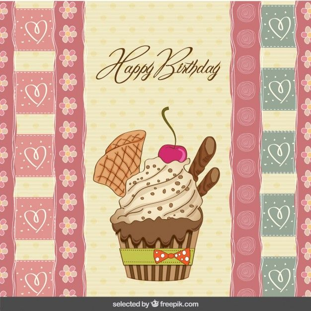 50 best Free vector Happy birthday images – Vector Birthday Cards