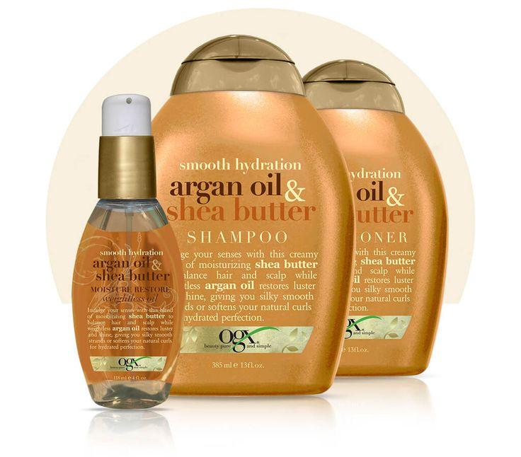 argan oil & shea butter