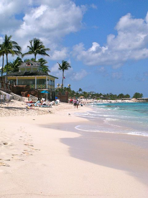 Nassau, Bahamas.....to walk the beach, with the water lapping my toes and listening to the waves touch the sand, that is relaxation