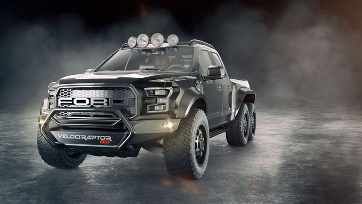 Hennessey VelociRaptor 6x6 based on the #Ford Raptor  #cars #trucks #offroad #allterrain   More from Hennessey Performance >> http://www.motoringexposure.com/aftermarket-tuned/hennessey-performance/