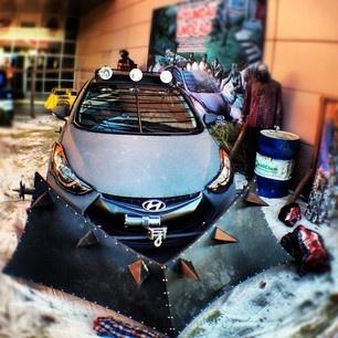 #SEMA car show.
